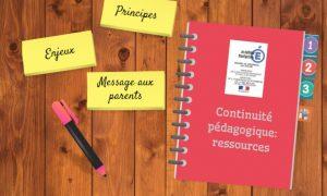 La continuité pédagogique en version interactive